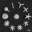 SEM image showing plasmonic Magic nano wands for field enhancement